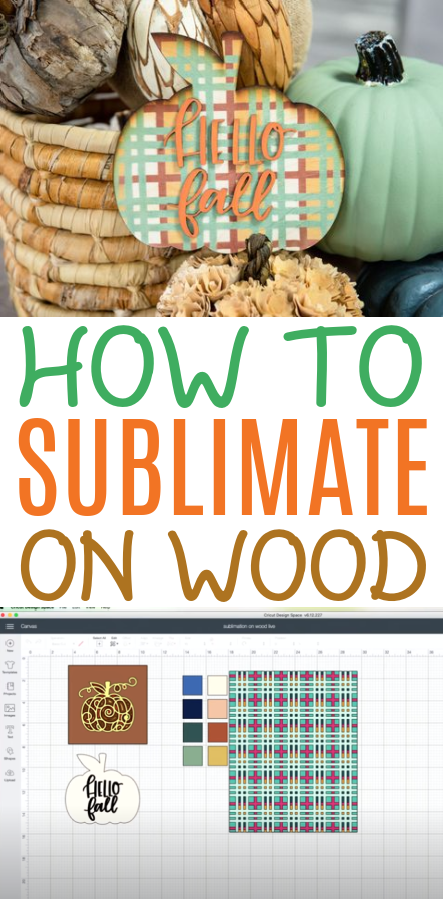 How To Sublimate On Wood