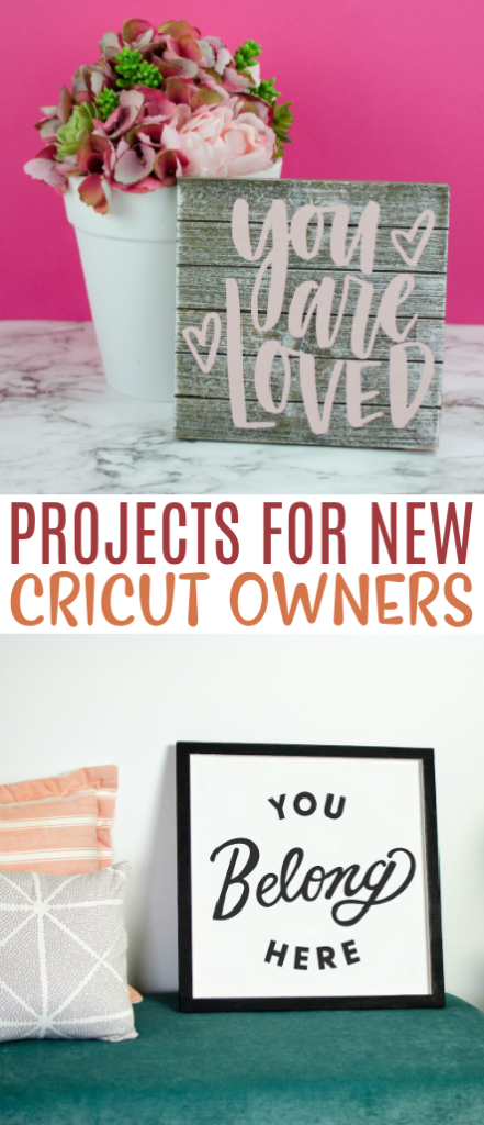 Projects For New Cricut Owners 1