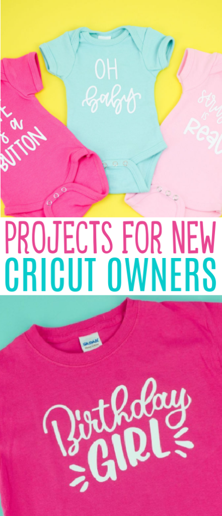 Projects For New Cricut Owners