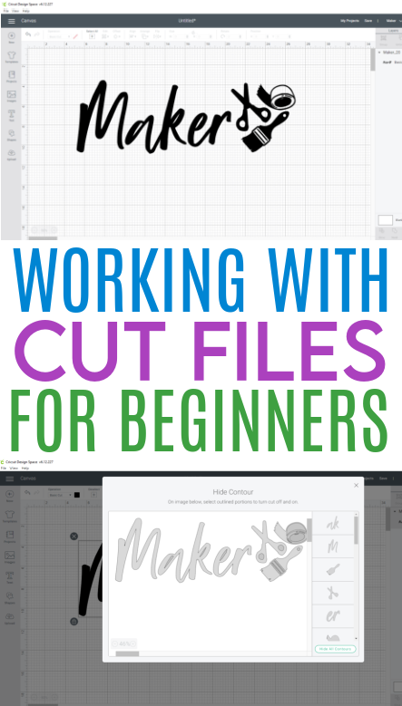 Working With Cut Files For Beginners 1