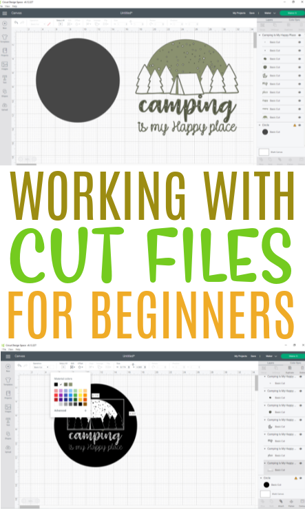 Working With Cut Files For Beginners