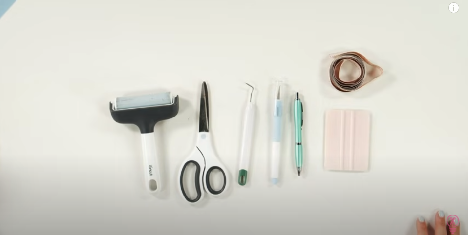 An Assortment Of Cricut Tools