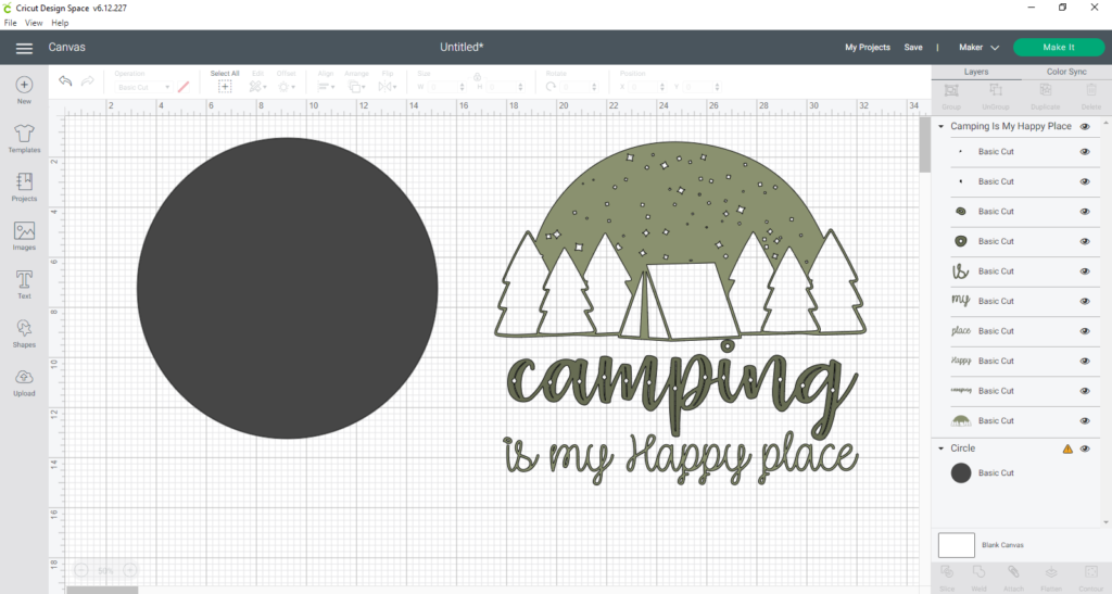 Camping Sign 1