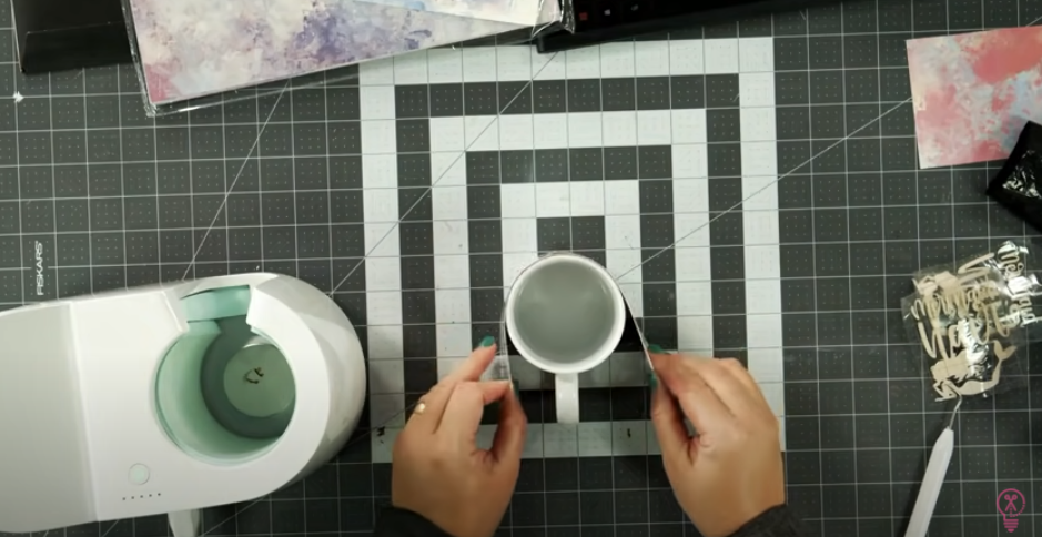 Place Infusible Ink Wrap Around The Mug